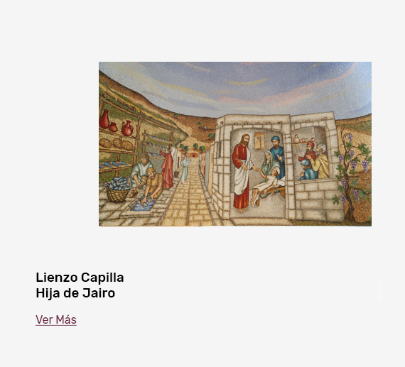 Banner Lienzo Hija de Jairo